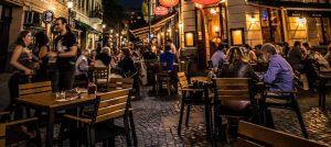 Bucharest Night Street